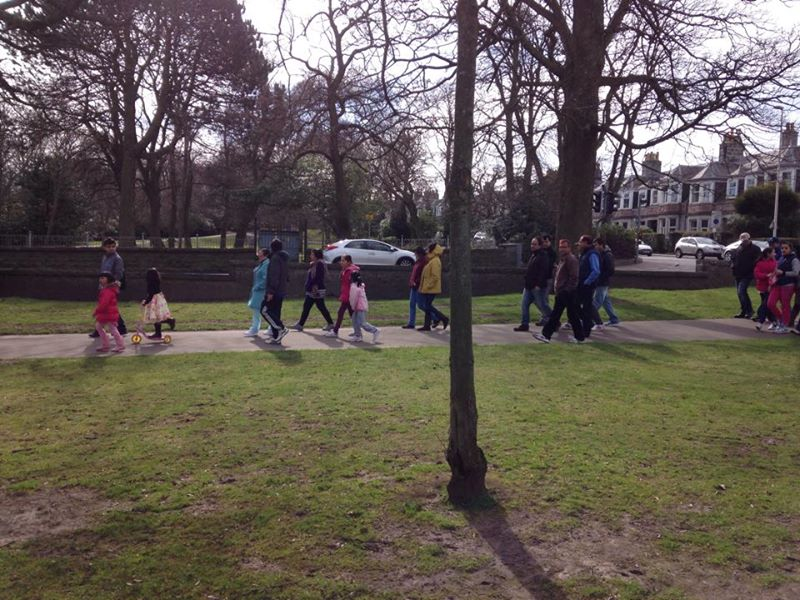Health Walk 5 April